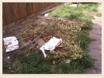 garden waste disposal in london & kent by budget junk