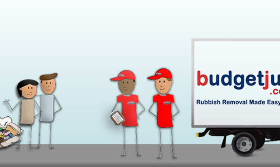 Budget Junk waste collection header images